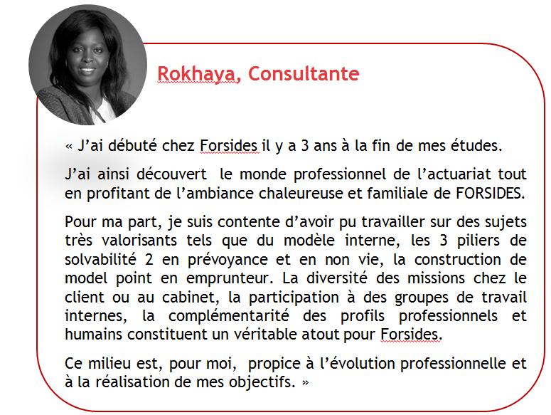 Témoignage Rokhaya